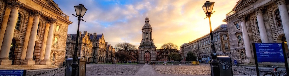 Sunrise at Trinity College Colloquium